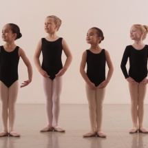 Childs ballet pose