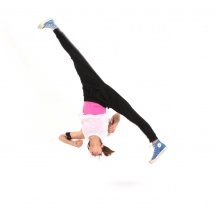 Acro dance overhead splits