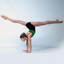 Handstand acro dance splits