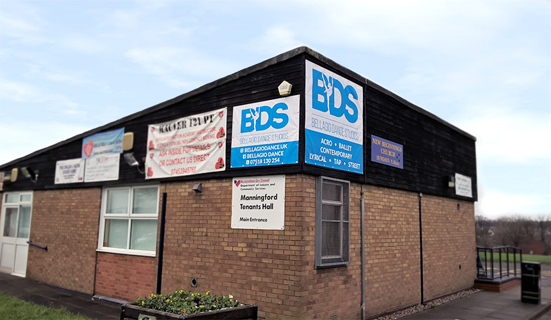 BDS banners at Manningford Hall