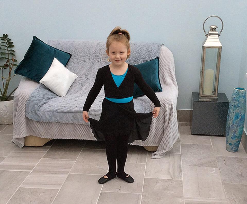 Bellagio Dance Studios uniform